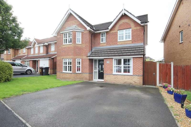 4 Bedrooms Detached House for sale in Perceval Way, Hindley, Wigan, WN2