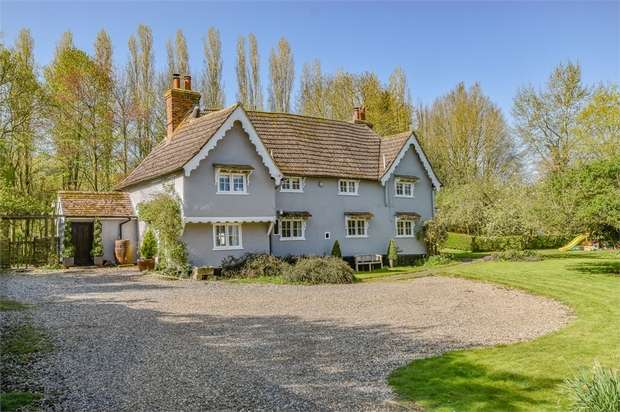 5 Bedrooms Detached House for sale in Great Sampford, Saffron Walden, Essex