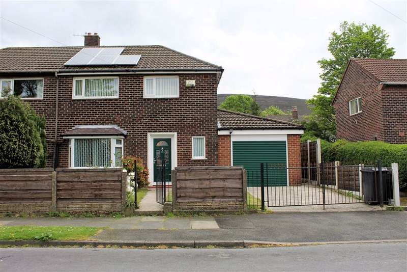 3 Bedrooms Semi Detached House for sale in Bank Road, Carrbrook, Stalybridge