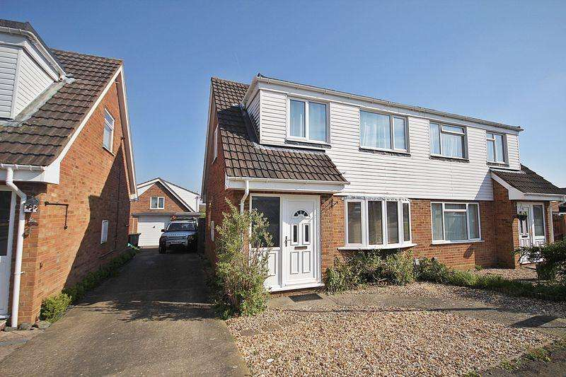 3 Bedrooms Semi Detached House for sale in Clover Road, Flitwick