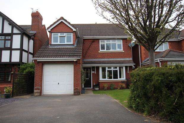 4 Bedrooms Detached House for sale in Roman Way, Syston, Leicester, LE7