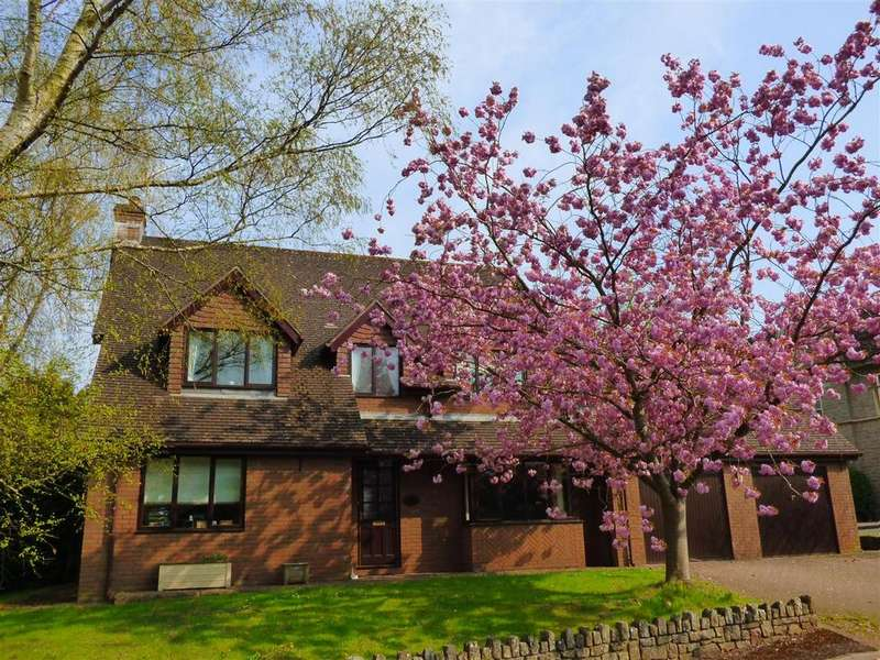4 Bedrooms Detached House for sale in Caerwent Gardens, Caerwent, Caldicot
