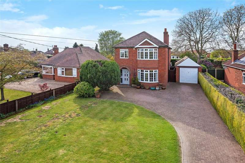 4 Bedrooms Detached House for sale in Grantham Road, Waddington, LN5