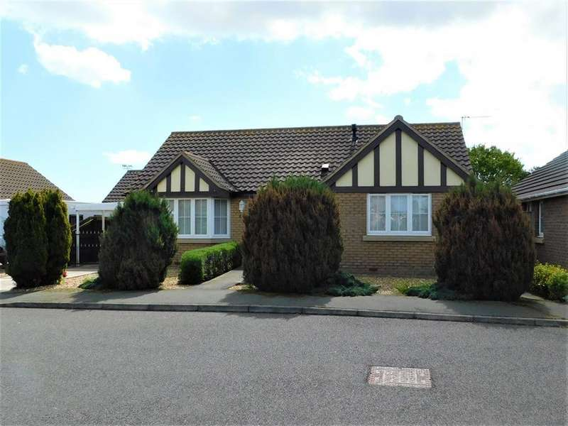 2 Bedrooms Detached Bungalow for sale in Hawthorn Drive, Mablethorpe, Lincolnshire, LN12 1FR