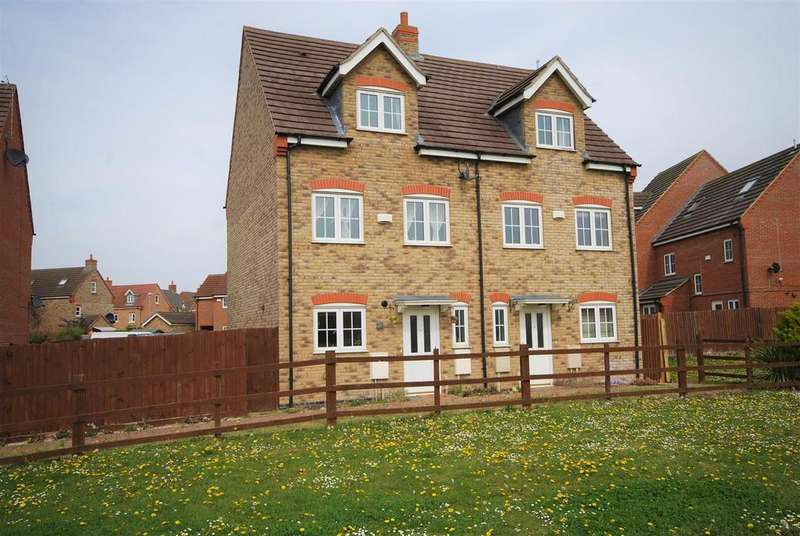 4 Bedrooms Semi Detached House for sale in Aldrin Close, Spalding