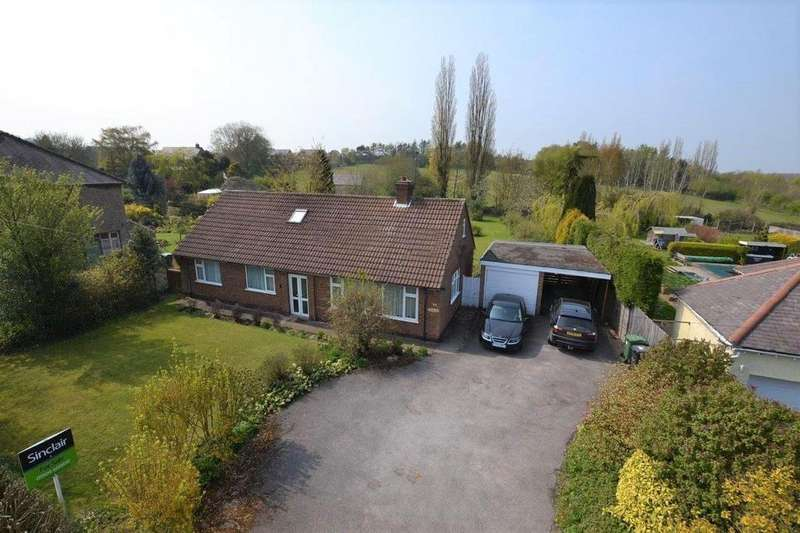 4 Bedrooms Detached Bungalow for sale in Iveshead Road, Shepshed, Leicestershire