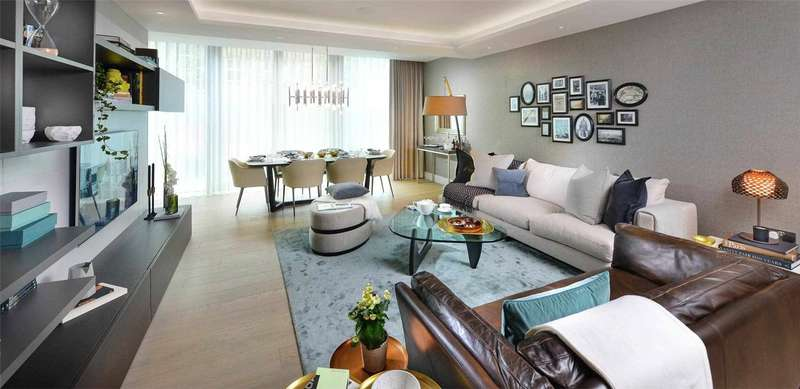 2 Bedrooms Apartment Flat for sale in Carrara Tower, 250 City Road, Islington, London, EC1V