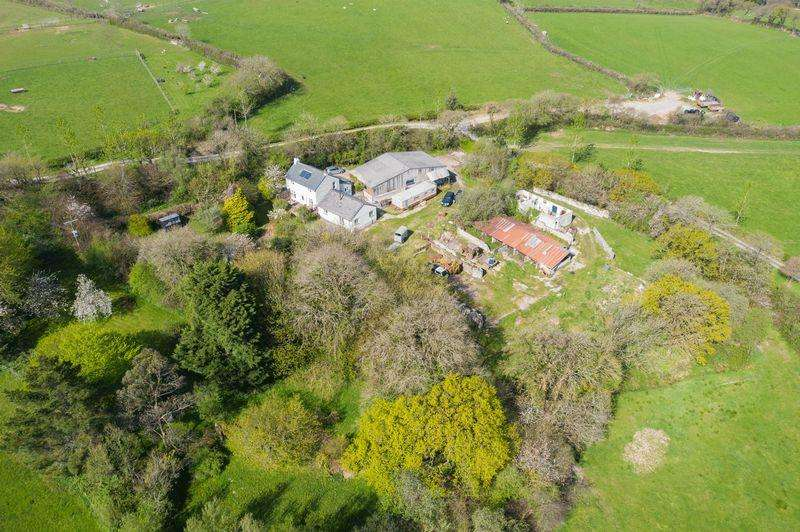 4 Bedrooms Detached House for sale in Week St Mary, Holsworthy