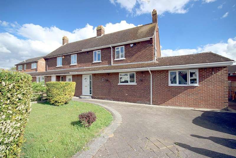 3 Bedrooms Semi Detached House for sale in Gothic Way, Arlesey, SG15