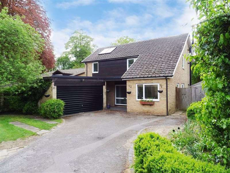 4 Bedrooms Detached House for sale in Lynch Hill Park, Whitchurch, Hampshire, RG28
