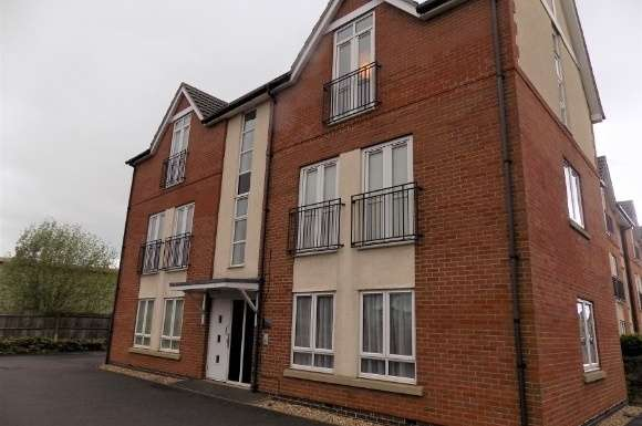 2 Bedrooms Flat for sale in Richmond House, Richmond Gate, Hinckley