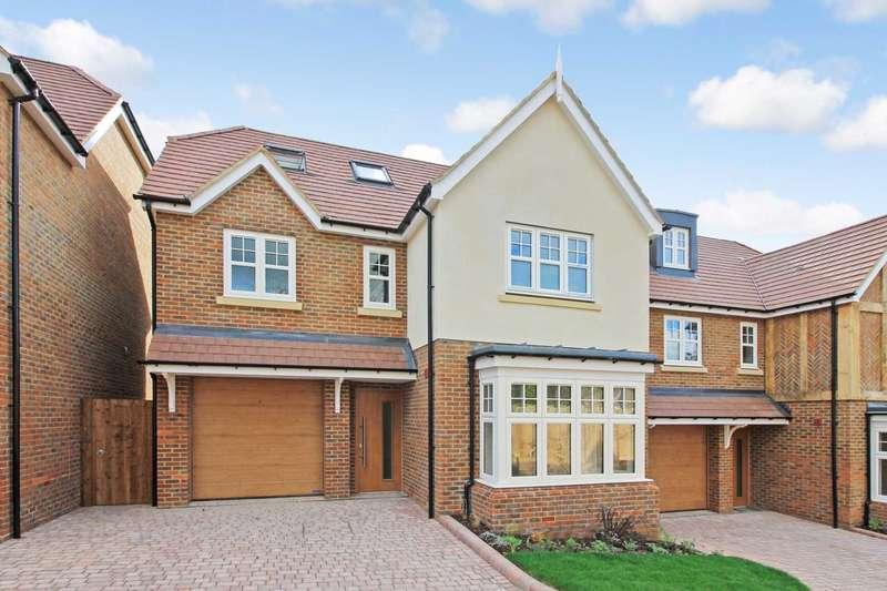 4 Bedrooms Detached House for sale in Ridgeway Gardens, Grove Road