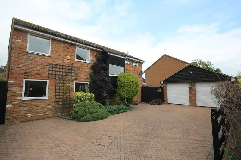 5 Bedrooms Detached House for sale in Tythe Barn Close, Westoning, MK45
