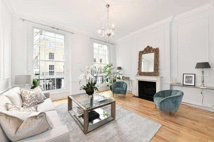 4 Bedrooms Semi Detached House for sale in Albion Street, London, W2