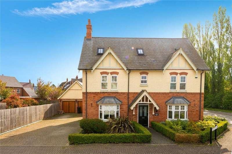 5 Bedrooms Detached House for sale in Glengarry Way, Greylees, Sleaford, Lincolnshire, NG34