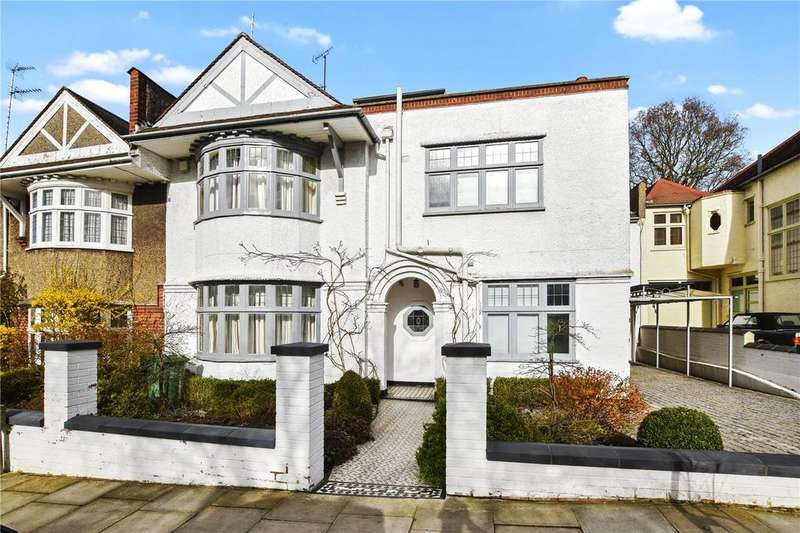 5 Bedrooms House for sale in Menelik Road, West Hampstead, London, NW2
