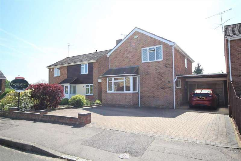 3 Bedrooms Detached House for sale in Uppingham Drive, Woodley, Reading