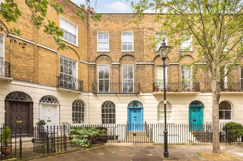 2 Bedrooms Maisonette Flat for sale in Cloudesley Square, Barnsbury, Islington, London