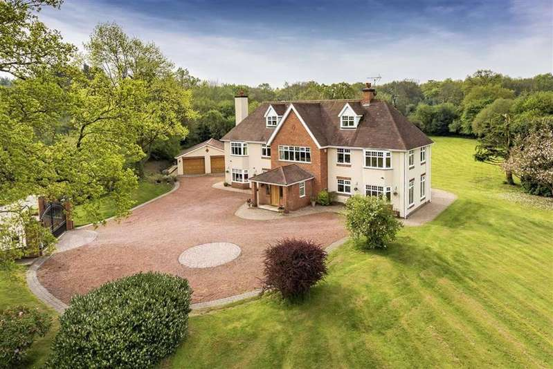 6 Bedrooms Detached House for sale in Stradsfield House, Somerford Lane, Brewood, Stafford, South Staffordshire, ST19