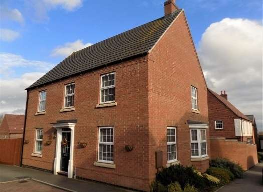 4 Bedrooms Property for sale in Amsterdam Drive, Hinckley