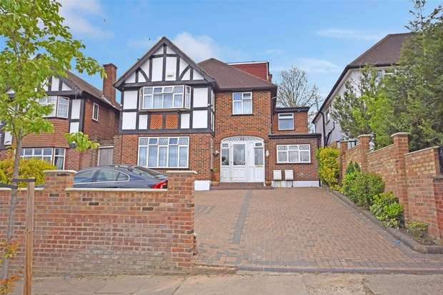 5 Bedrooms Detached House for sale in Sudbury Court Drive, HARROW, Middlesex