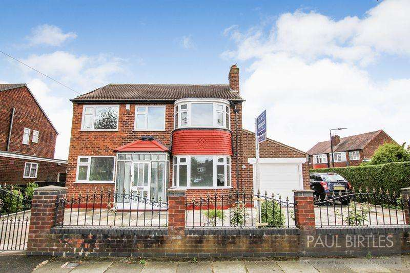 4 Bedrooms Detached House for sale in Canterbury Road, Davyhulme, Manchester