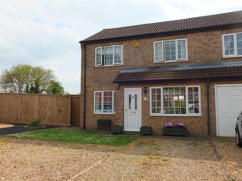 3 Bedrooms Semi Detached House for sale in Heath Lane, Leasingham, Sleaford