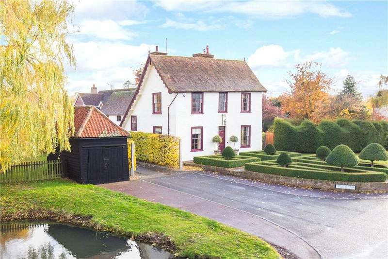 5 Bedrooms Unique Property for sale in Middle Farm, Chapel Street, Hinxworth, Hertfordshire