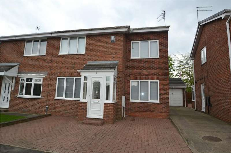 3 Bedrooms Semi Detached House for sale in Stainton Way, Peterlee, Co.Durham, SR8