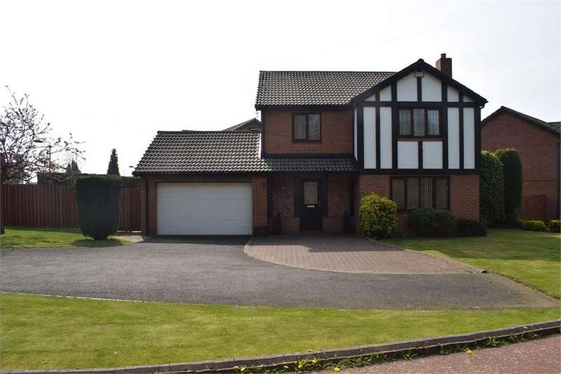 4 Bedrooms Detached House for sale in Deansfield Grove, North Walbottle, Newcastle upon Tyne, Tyne and Wear