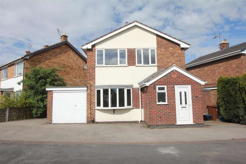 3 Bedrooms Detached House for sale in Chesterfield Way, Barwell, Leicester