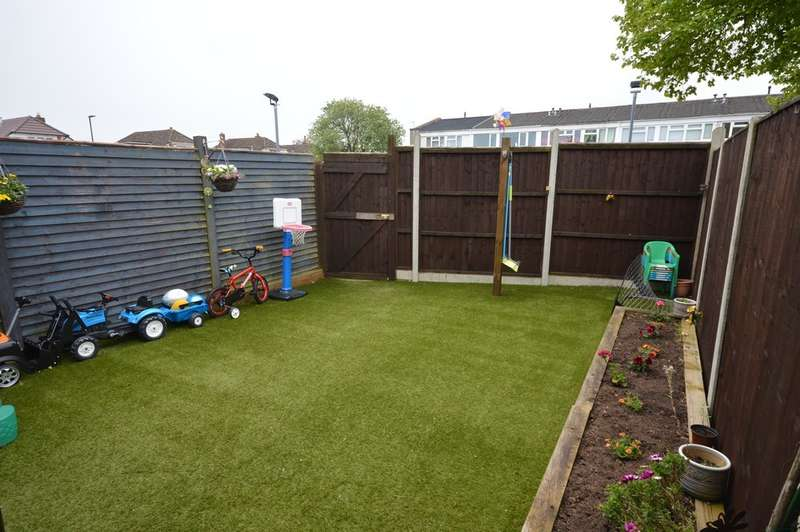 3 Bedrooms Terraced House for sale in Bifield Gardens, Stockwood, Bristol, BS14