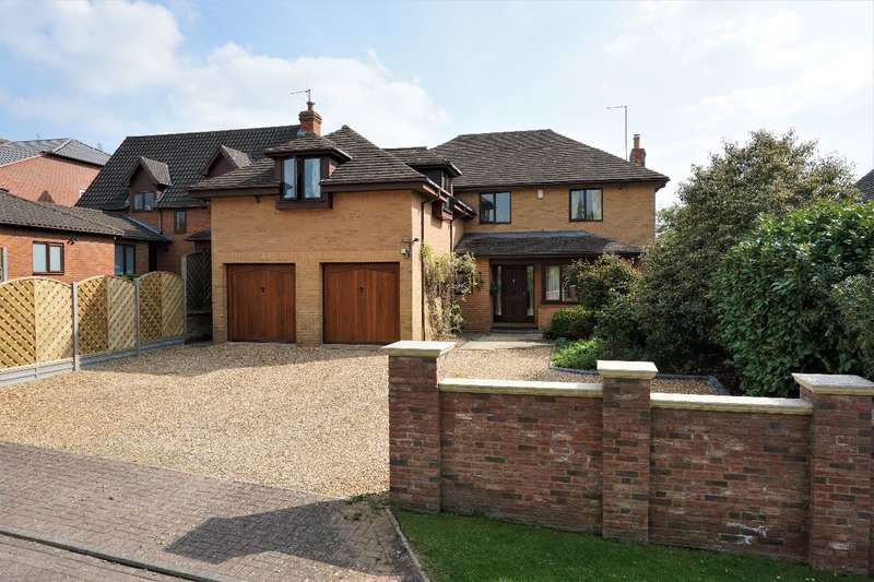 5 Bedrooms Detached House for sale in PRIORY CLOSE, TURVEY