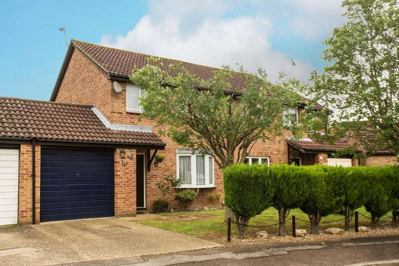 3 Bedrooms Semi Detached House for sale in Flamborough Close, Lower Earley, Reading, RG6 3XB