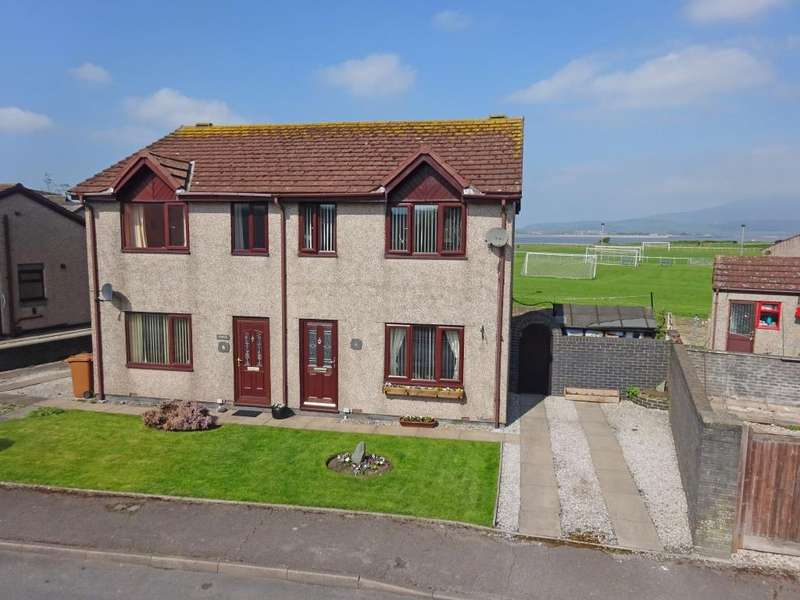 3 Bedrooms Semi Detached House for sale in 4 Estuary Park, Askam-In-Furness