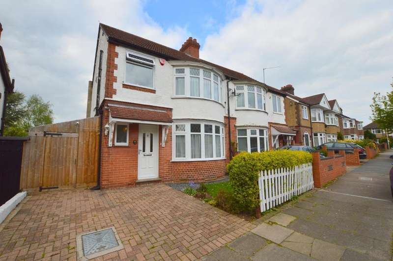 3 Bedrooms Semi Detached House for sale in Woodbury Hill, Round Green, Luton, Bedfordshire, LU2 7JP