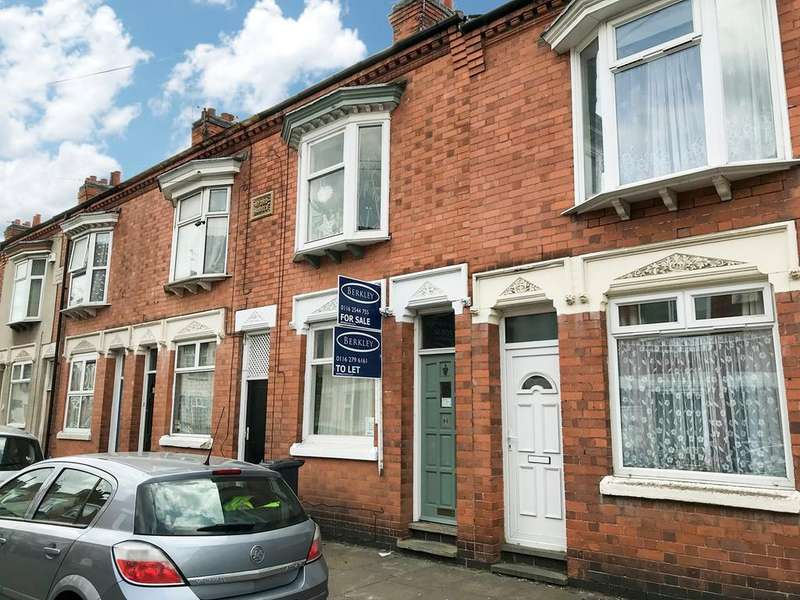 3 Bedrooms Terraced House for sale in Wolverton Road, Leicester, LE3