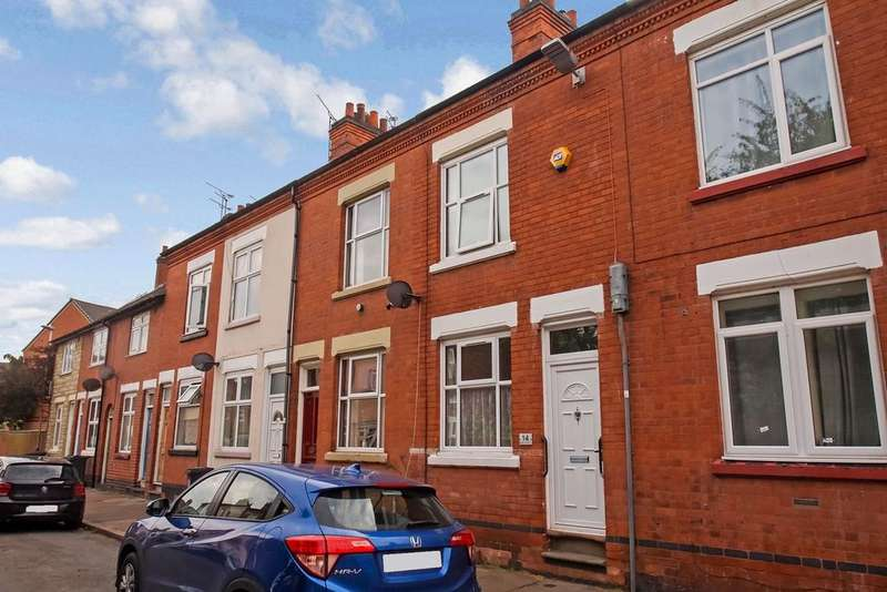 2 Bedrooms Terraced House for sale in Hoby Street, Leicester, LE3