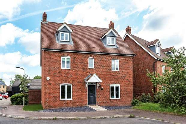 5 Bedrooms Detached House for sale in Wadsworth Court, Bedford