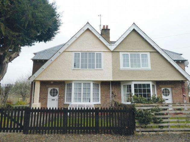 3 Bedrooms Semi Detached House for sale in Broomfield Culrain Ardgay IV24 3DW