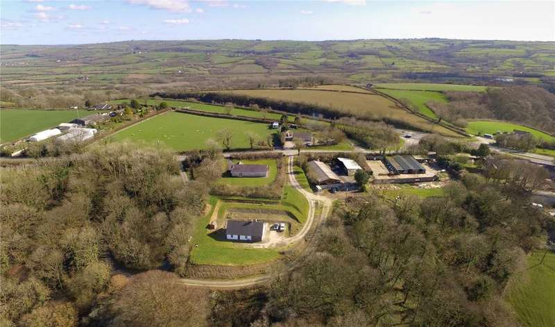 3 Bedrooms Farm Commercial for sale in Llanddewi Velfrey, Narberth, Pembrokeshire