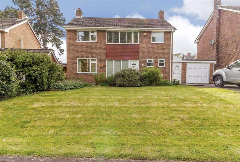 3 Bedrooms Detached House for sale in Gwentlands Close, Chepstow