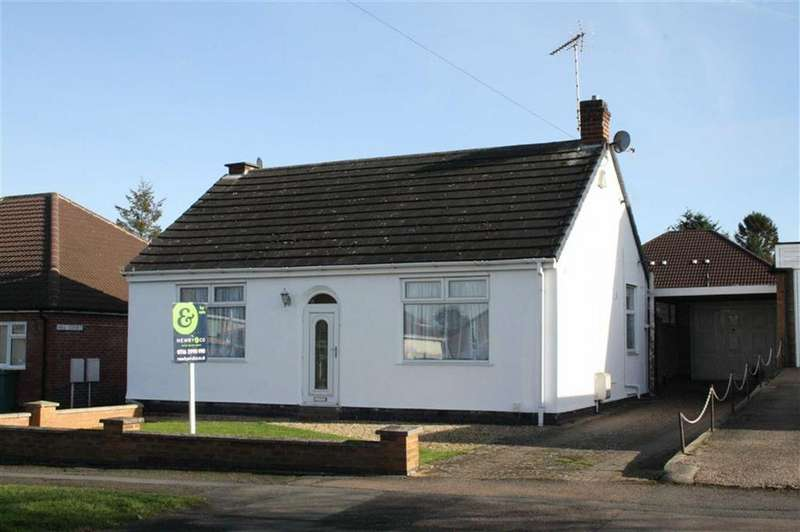 2 Bedrooms Detached Bungalow for sale in Tournament Road, Glenfield