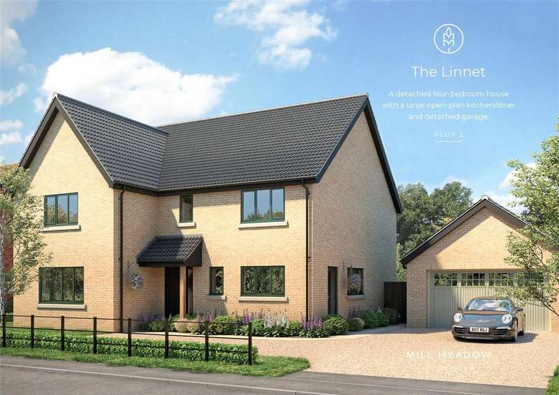 4 Bedrooms Detached House for sale in Plot 2 Mill Meadow, Mill Road, Strumpshaw, Norwich, NR13