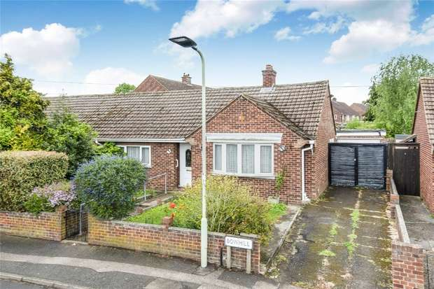 2 Bedrooms Semi Detached Bungalow for sale in Bowhill, Bedford