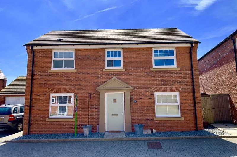 4 Bedrooms Detached House for sale in Poppy Road, Witham St. Hughs, Lincoln, LN6