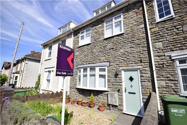 4 Bedrooms Terraced House for sale in Victoria Street, Staple Hill, BRISTOL, BS16 5JS