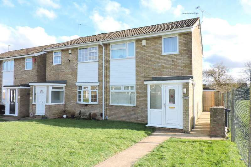 3 Bedrooms Semi Detached House for sale in Buckingham Drive, Luton, Bedfordshire, LU2 9RE