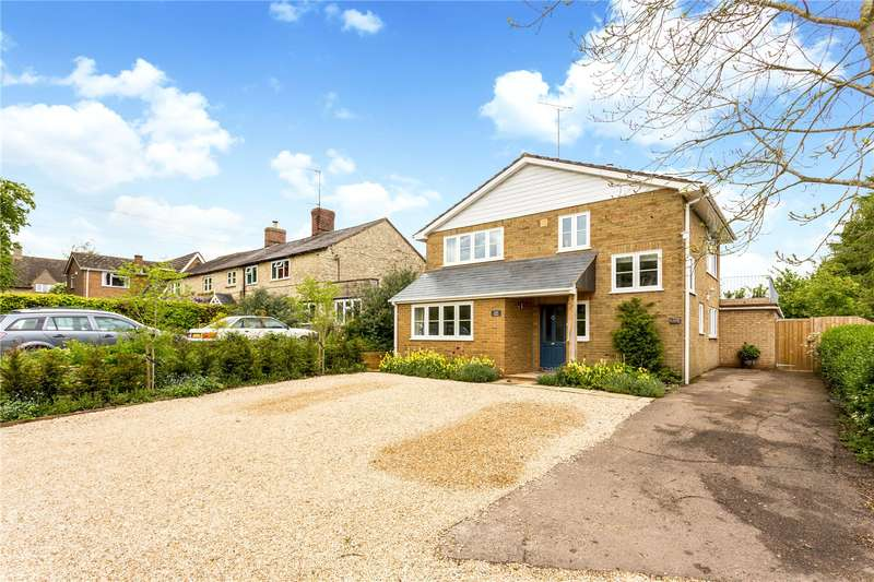 4 Bedrooms Detached House for sale in Hinton-in-the-Hedges, Brackley, Northamptonshire, NN13