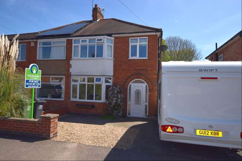 3 Bedrooms Semi Detached House for sale in Orchard Road, Birstall, Leicester, LE4